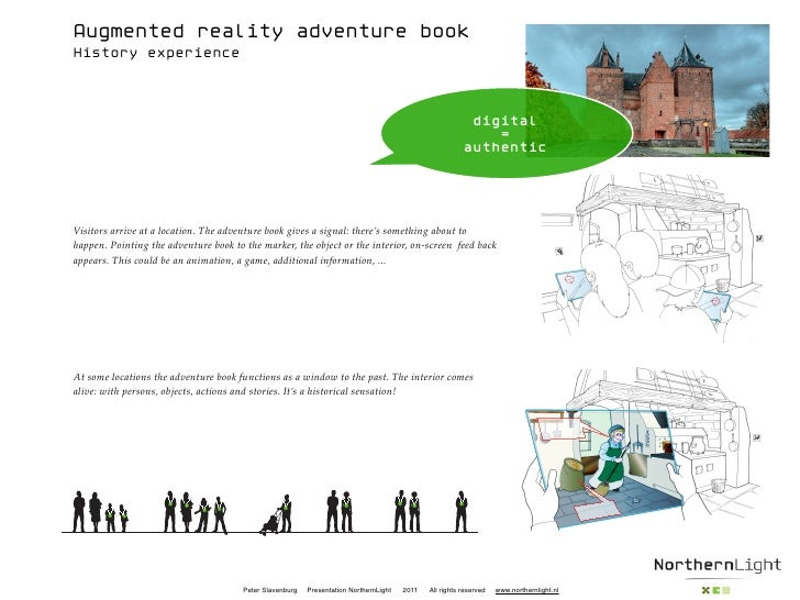 Augmented reality adventure bookHistory experience                                                                        ...