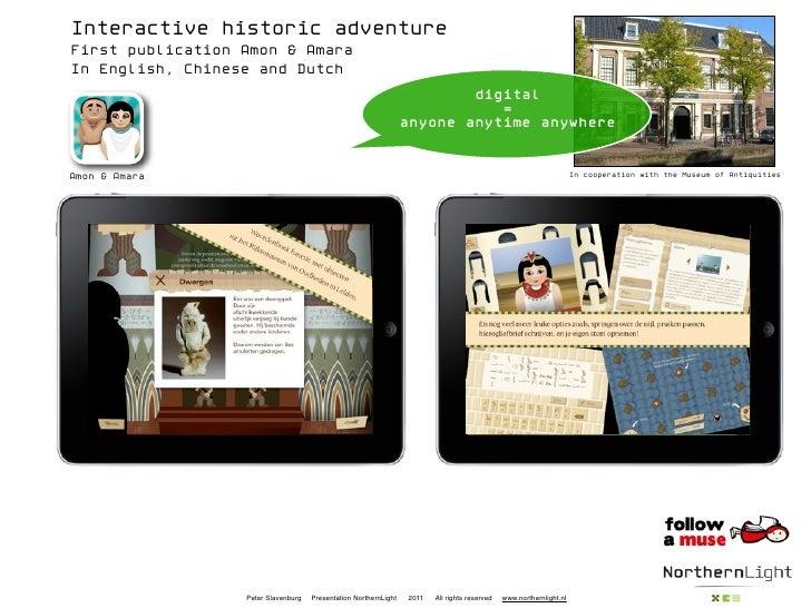 Interactive historic adventureFirst publication Amon & AmaraIn English, Chinese and Dutch                                 ...