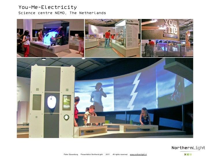 You-Me-ElectricityScience centre NEMO, The Netherlands                  Peter Slavenburg   Presentation NorthernLight   20...