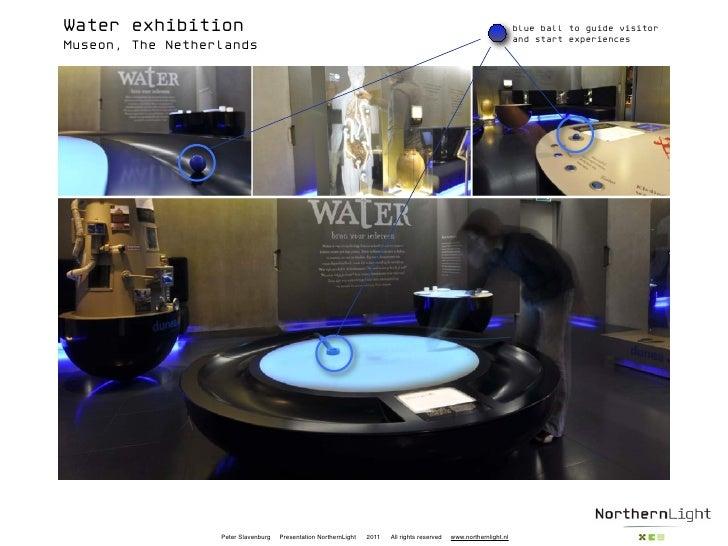 Water exhibition                                                                                                      blue...