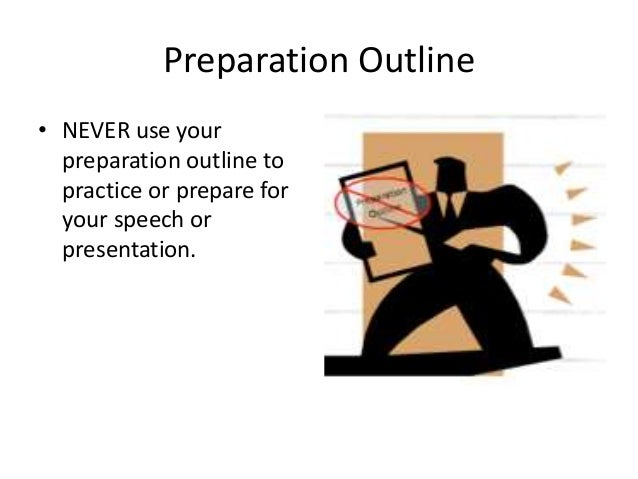 how to prepare an outline