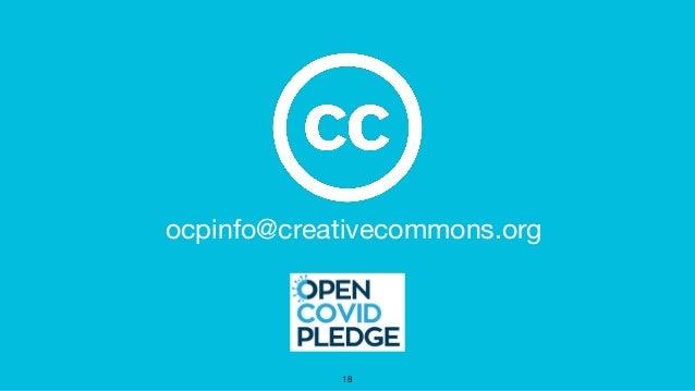 ocpinfo@creativecommons.org 18