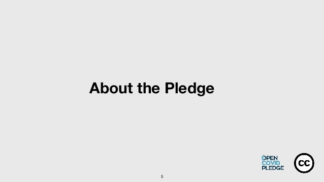 5 About the Pledge