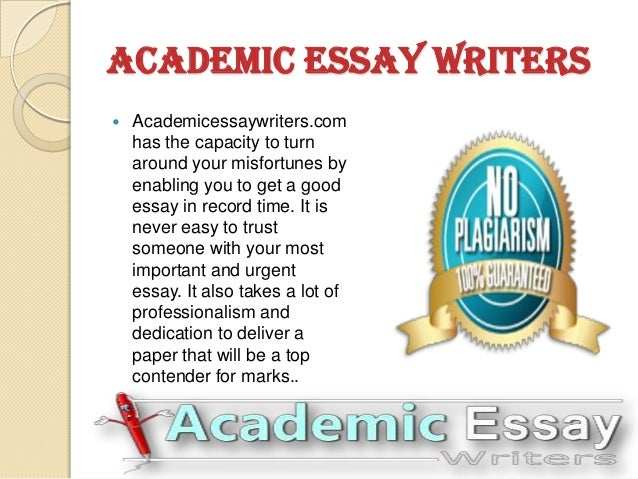 Academic writers needed