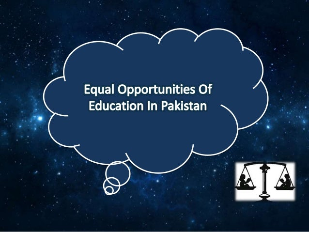 The lack of equal opportunities in education due to racism
