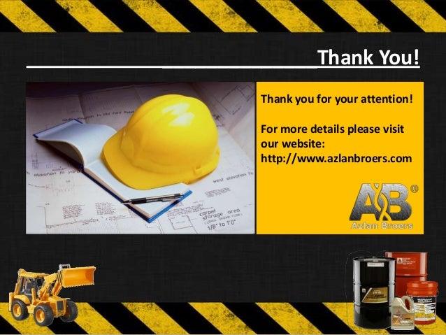 Presentation Of Azlan Broers Trading Amp Construction Company