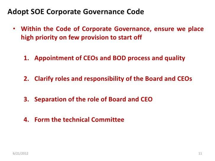 Code of Corporate Governance, Pakistan Essay Sample
