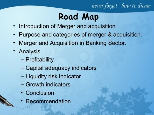 motives of bank mergers and acquisition Mergers, acquisitions, & branch sales  merger transaction - a merger is the acquisition or absorption of one healthy insured institution by another because the fdic bills insurance premiums in arrears, the payment for a merger covers two billing quarters as explained below.