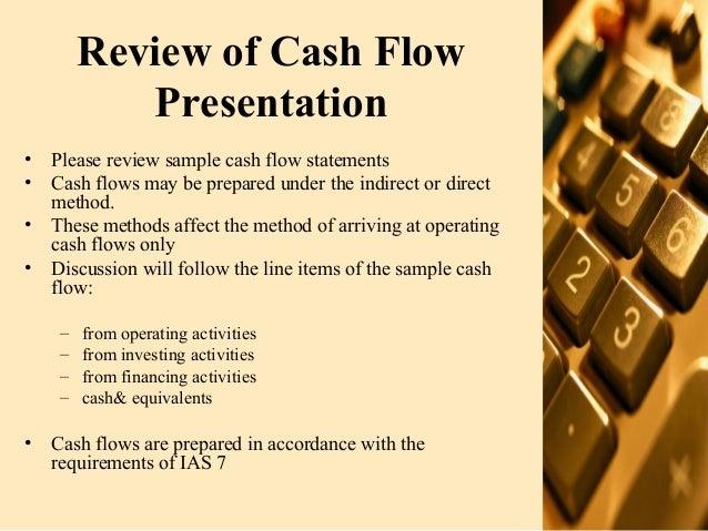 Presentation of financial statements 07 08-07