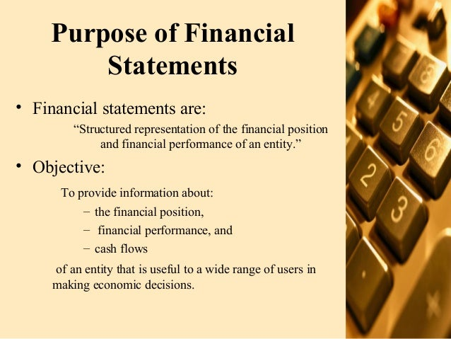 Presentation Of Financial Statements 07 08-07