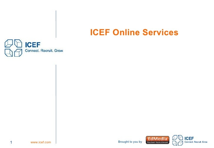 ICEF Online Services