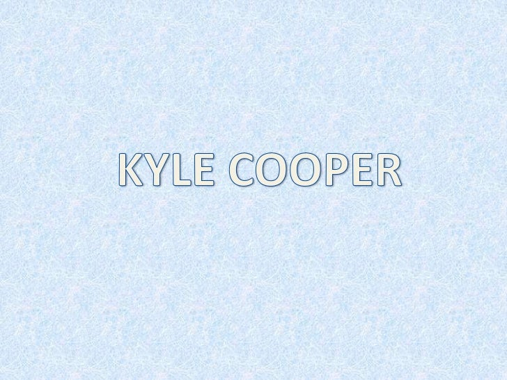 Kyle Cooper is very talented and famous title designer who hasdirected over 150 film title sequence and have all been extr...