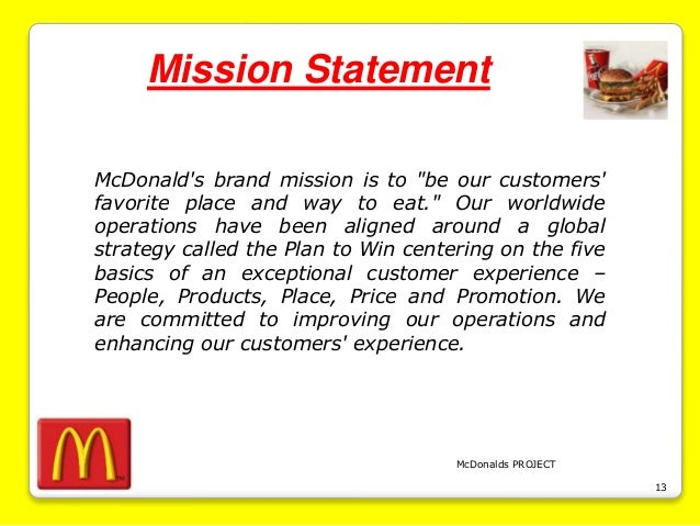 the importance of having a mission statement free samples