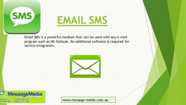 Message Media: The Custom SMS Whiz Slide 3