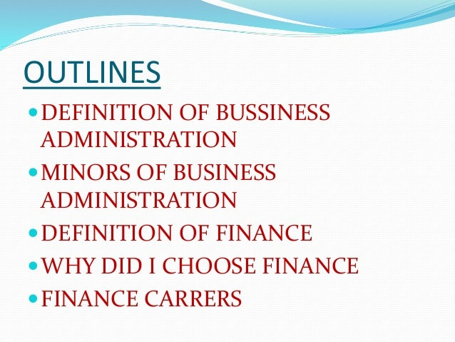 why did i choose business administration for my major Everything you need to know about college majors and how to choose a major that's right for you  business school  guide to choosing college majors.