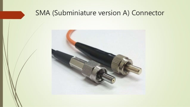 Presentation of optical fiber connector