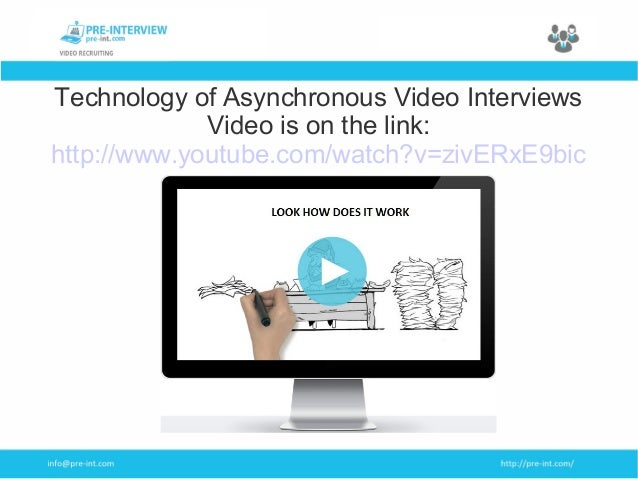 online interview video