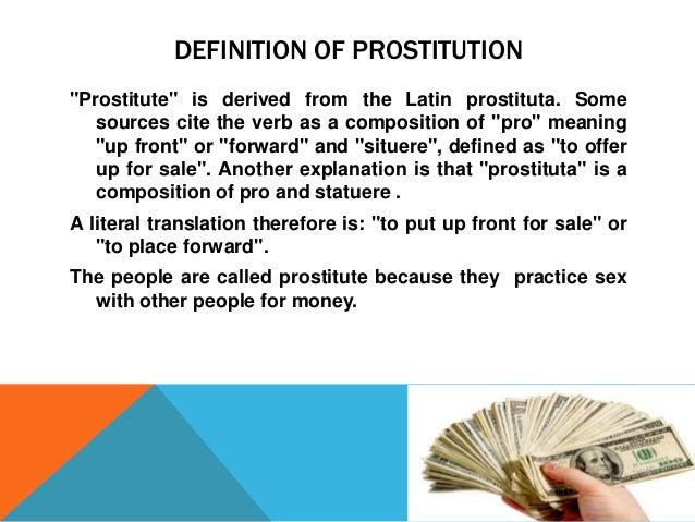 Presentation of prostitution Slide 2