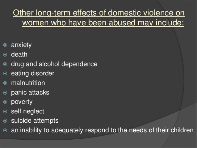Dating violence long term effects