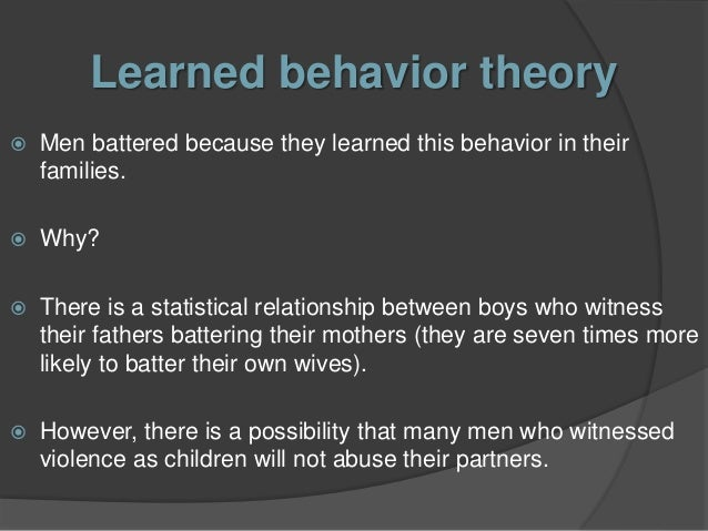domestic violence theories impact on victims reasons and interventions Keywords: domestic violence, impact on children, child abuse, coping  mechanisms, brain development, toxic stress, interventions, child protection  introduction  that 59 per cent of all victims experienced domestic abuse from the  same  police, the most common reasons given (based on data gathered in  england as.
