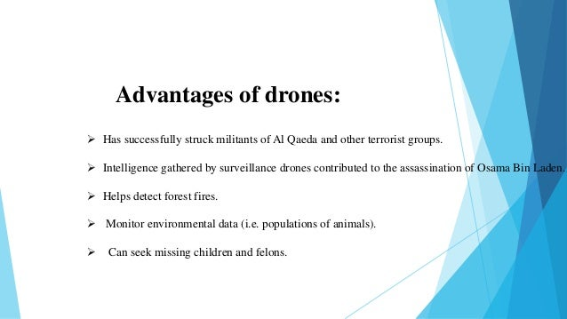 Advantages and Disadvantages of Drone Technology