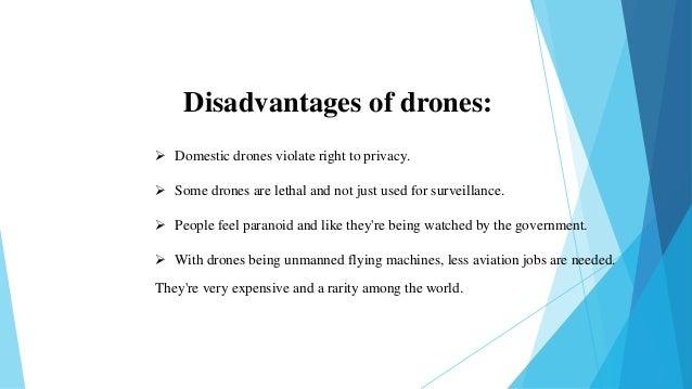 Presentation of quadcopter drone