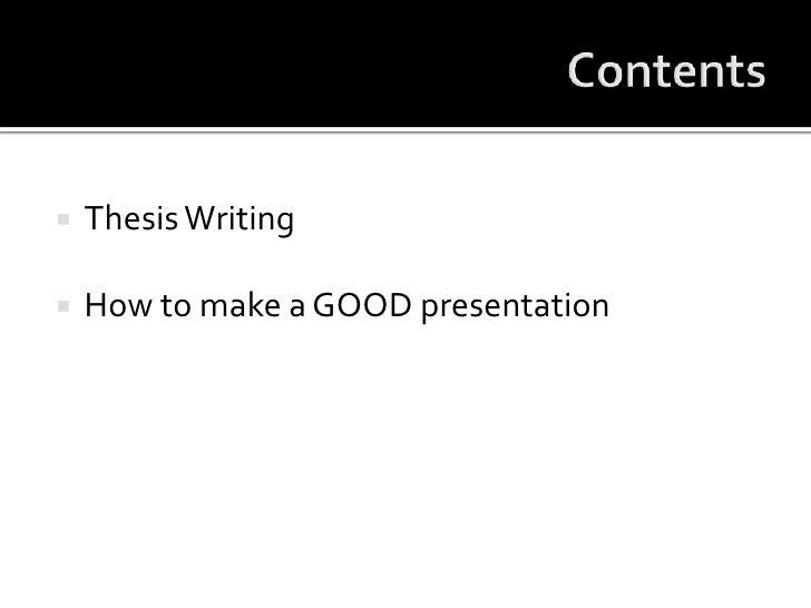 Presentation Of Research Work Slide 2