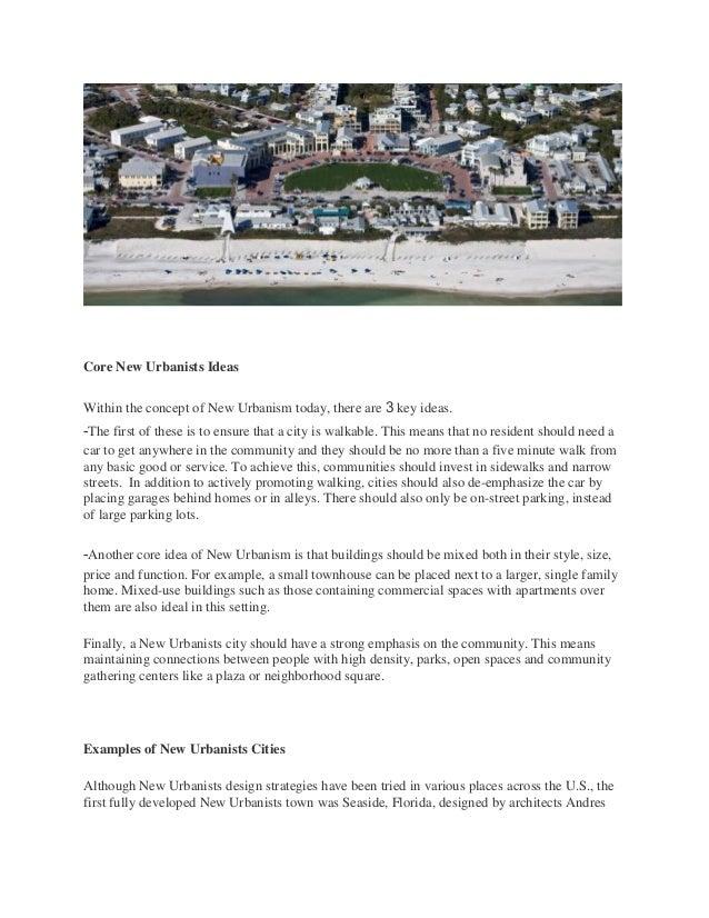 Presentation of urban design 1