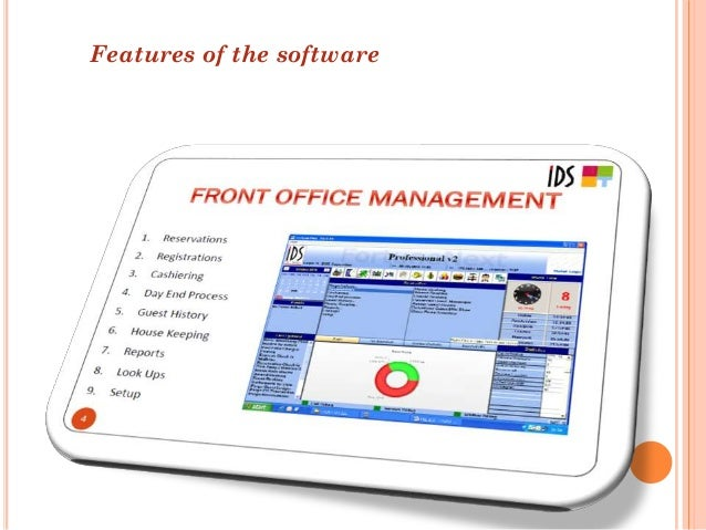 Management information system for hotel industry