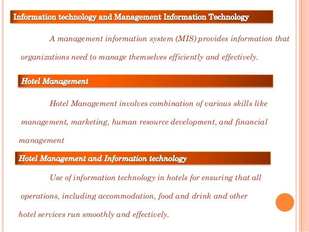 the significance of management information systems An information system (is) is an organized system for the collection, organization, storage and communication of informationmore specifically, it is the study of complementary networks that people and organizations use to collect, filter, process, create and distribute data.