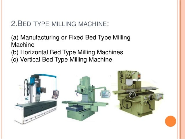 type of machine tool
