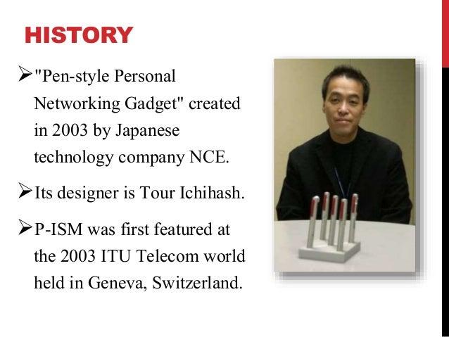 presentation on 5 pen technology