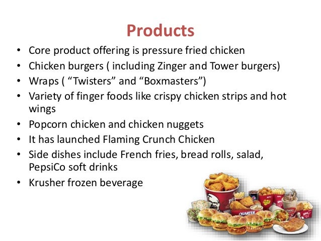 marketing mix of kfc product Marketing mix of mcdonalds analyses the brand/company which covers 4ps (product, price, place, promotion) mcdonalds marketing mix explains the business & marketing strategies of the brand.