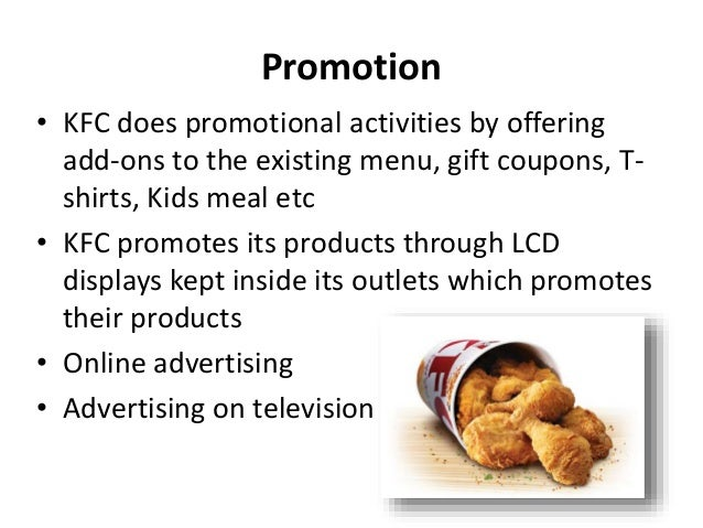 kfc in china 4p Nike inc marketing mix or 4ps (product, place, promotion, price) strategies & tactics are shown in this case study & analysis of the sports shoes business.