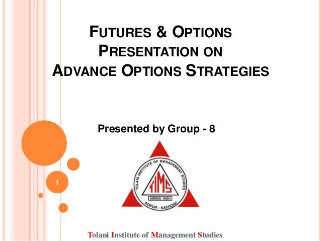 Options strategies with futures