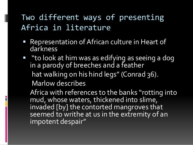 an analysis of the africa through the novels heart of darkness and things fall apart Chinua achebe is a nigerian novelist and author of things fall apart,  up novels to things fall apart:  of africa: racism in conrad's heart of darkness, in.