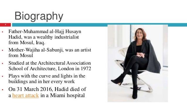 Presentation On Architect Zaha Hadid And Her Work