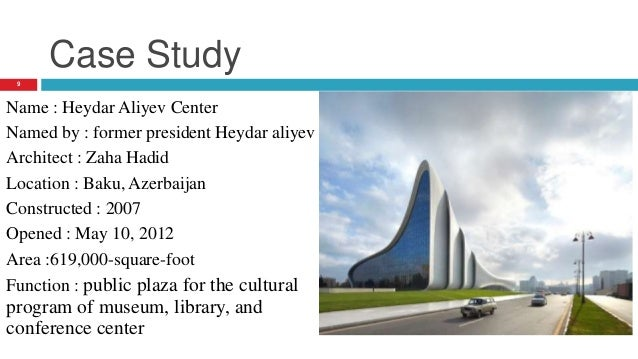 Presentation On Architect Zaha Hadid And Her Work