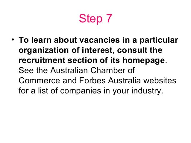 How to Write an Australian Resume