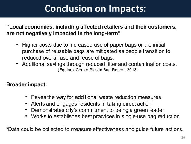 conclusion on the plastics usage The conclusion is simple and complicated: what is the use of all this 21st century  bla bla bla technology if we  unfortunately only 38% of plastics are recycled.