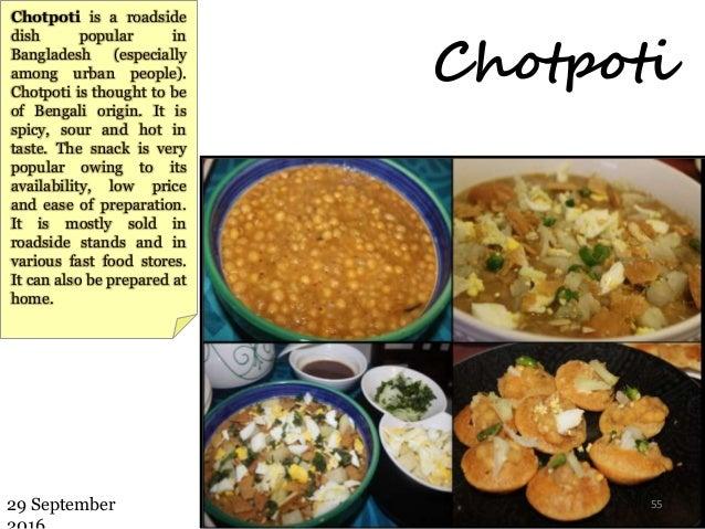 Presentation on bangladesh chotpoti forumfinder Images
