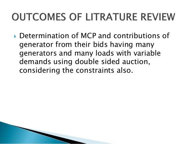 power system deregulation thesis