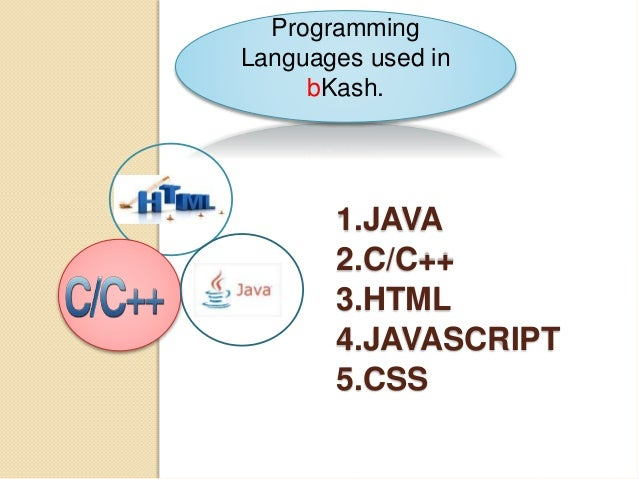 Presentation on bkash for it or cse students