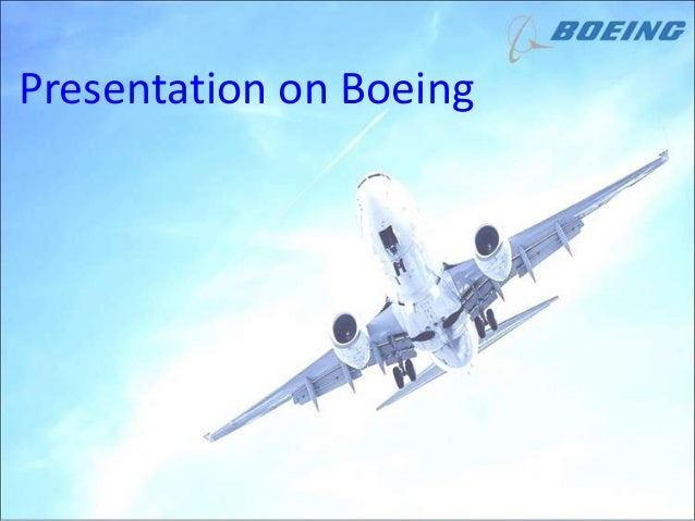 presentation on boeing