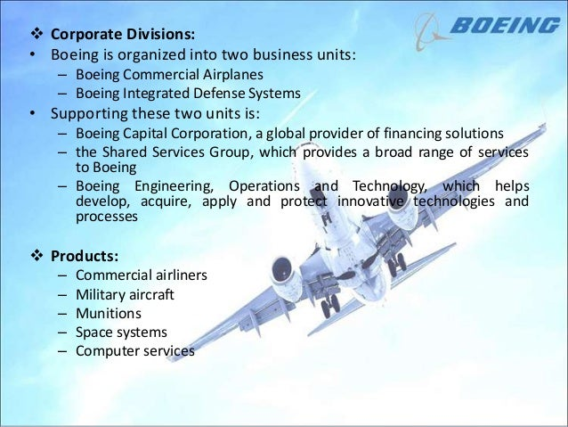 boeing corporation essay