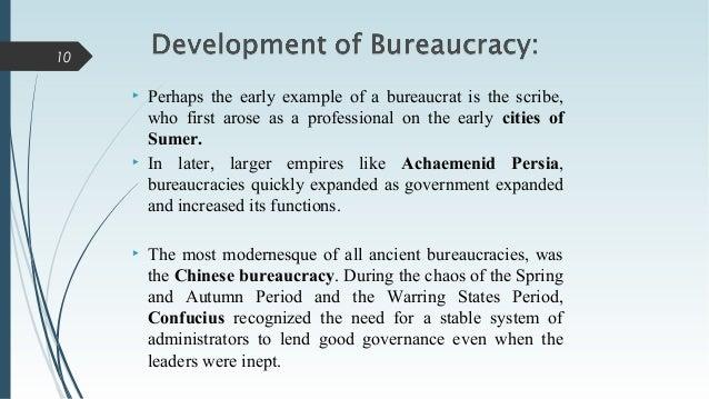 Presentation On Bureaucracy