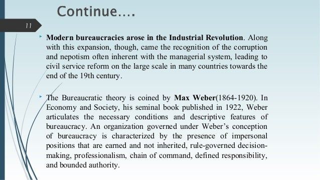 bureaucracy and islam This article first outlines the major postmodern perspectives on modernism and their implications for democracy and american bureaucracy modernism and postmodernism debate two visions postmodernism charts modern problems by looking from new vantage points at modernism's central impulse, reason.