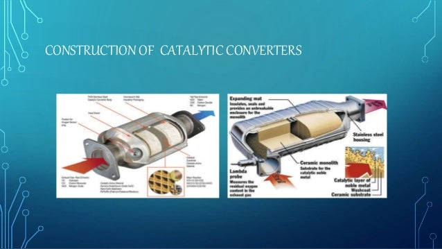 CONSTRUCTION OF CATALYTIC CONVERTERS