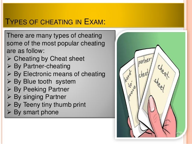 causes of cheating in exams