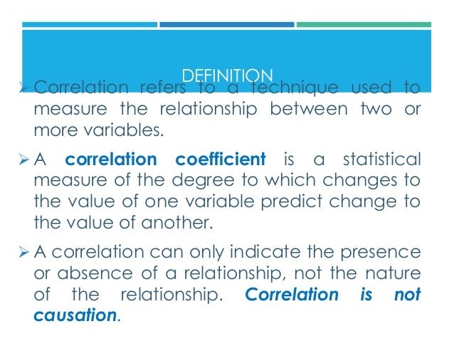 coefficient correlation